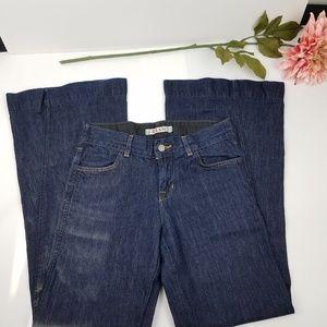 J Brand kat flare dark wash jeans size 27